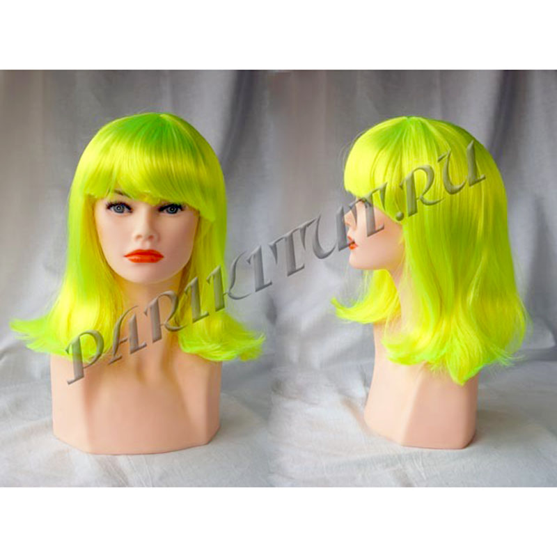 Карнавальный парик Модель FEB24 (карэ) color NE-21